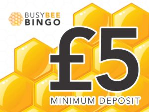 £5 Minimum Deposit Bingo Sites